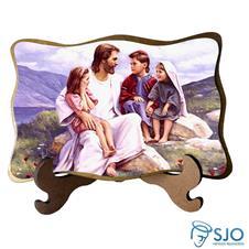 Imagem - Porta-Retrato Rosto de Jesus - Modelo 1 cód: 13524435