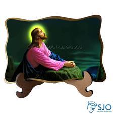 Porta-Retrato Jesus Orando - Modelo 2