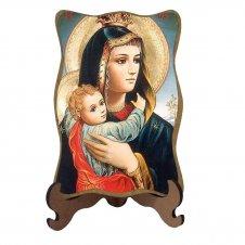 Imagem - Porta-Retrato Nossa Senhora da Abadia - Modelo 1 cód: 10734976