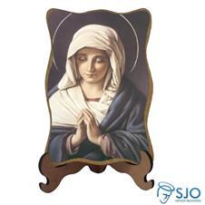 Porta-Retrato Nossa Senhora do Silêncio - Mod 2