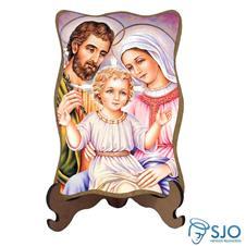 Imagem - Porta-Retrato Sagrada Família - Modelo 6 - 11572026