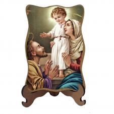 Imagem - Porta-Retrato Sagrada Família - Modelo 4 cód: 15743449