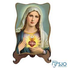 Porta-Retrato Sagrado Coração de Maria - Modelo 2