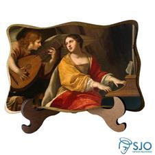 Imagem - Porta-Retrato Santa Cecília cód: 15902555
