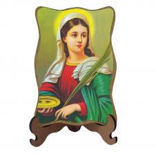 Imagem - Porta-Retrato Santa Luzia - Modelo 1 cód: 10326642