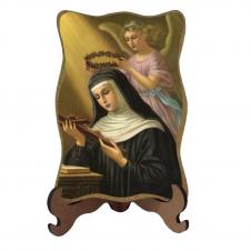 Imagem - Porta-Retrato Santa Rita - Modelo 2 cód: 14429653