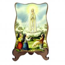 Imagem - Porta-Retrato Nossa Senhora de Fátima - 16618843