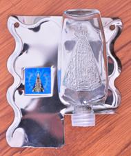 Pia para Água Benta de Parede Alumínio - 12 cm