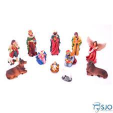 Imagem - Presépio com 11 peças - 15 cm cód: 11057155