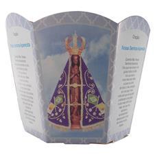 Imagem - Protetor de Vela - Nossa Senhora Aparecida cód: 13880442