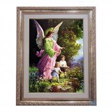 Imagem - Quadro - Anjo da Guarda - 52 cm x 42 cm cód: 14395638