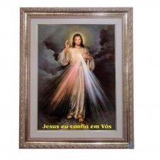 Imagem - Quadro - Jesus Misericordioso - 52 cm x 42 cm cód: 15636029