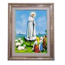 Imagem - Quadro - Nossa Senhora de Fátima - 52 cm x 42 cm cód: 12487509