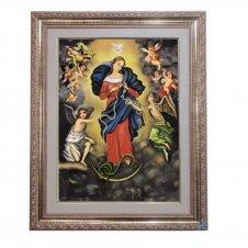 Imagem - Quadro - Nossa Senhora Desatadora de Nós - 52 cm x 42 cm cód: 16842078