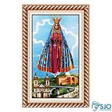 Imagem - Quadro Religioso Nossa Senhora Aparecida - 70 x 50 cm - Mod. 4  cód: 12624838