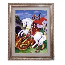 Imagem - Quadro - São Jorge - 52 cm x 42 cm cód: 16726309