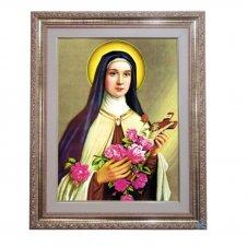 Imagem - Quadro - Santa Terezinha - 52 cm x 42 cm cód: 12370606