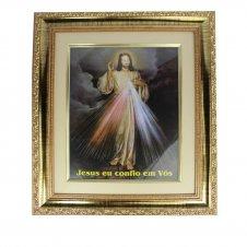 Imagem - Quadro Jesus Misericordioso 37,5 x 33 cm cód: 12679772