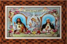Quadro Religioso Benção dos Lares - 50 x 70 cm