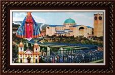 Imagem - Quadro Religioso Nossa Senhora Aparecida - 70 x 50 cm - Mod. 2 cód: 12690930