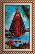 Imagem - Quadro Religioso Nossa Senhora Aparecida - 70 x 50 cm - Mod. 3 cód: 19254177