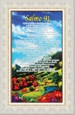 Imagem - Quadro Religioso Texto Bíblico - 70 x 50 cm - Mod. 7 cód: 12159796
