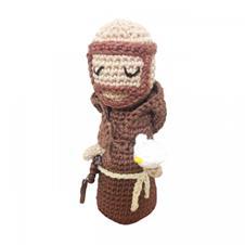 Imagem - Boneco de Crochê - São Francisco de Assis cód: BCSFA