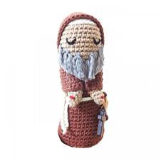 Imagem - Boneco de Crochê - Padre Pio cód: BCPP