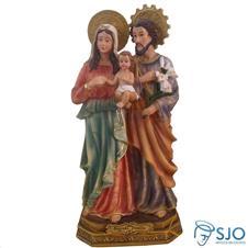 Imagem - Imagem de Resina Sagrada Família - 22 cm  cód: 14385536