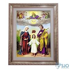 Quadro - Sagrada Família - 52 cm x 42 cm