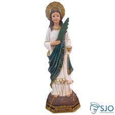 Imagem de resina Santa Luzia - 22 cm