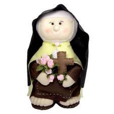 Imagem - Santa Terezinha de Feltro - 20 cm cód: 15935083