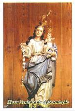 Santinhos de Oração Nossa Senhora da Apresentação
