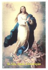 Imagem - Santinhos de Oração Nossa Senhora da Conceição - 10226972