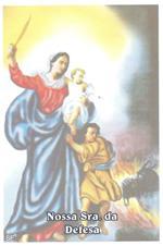 Imagem - Santinhos de Oração Nossa Senhora da Defesa cód: 15317926
