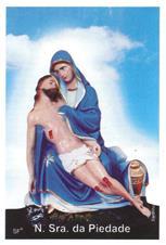 Imagem - Santinhos de Oração Nossa Senhora da Piedade cód: 14514362