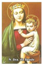 Imagem - Santinhos de Oração Nossa Senhora da Saúde - 10228147