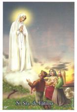 Santinhos de oração Nossa Senhora de Fátima