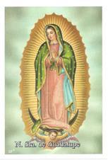 Imagem - Santinhos de Oração Nossa Senhora de Guadalupe - 11050156