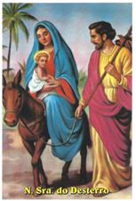 Santinhos de Oração Nossa Senhora do Desterro