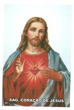 Imagem - Santinhos de Oração Sagrado Coração de Jesus - 12450923