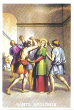 Santinhos de Oração Santa Apolônia