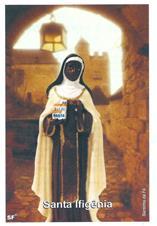 Santinhos de Oração Santa Efigênia