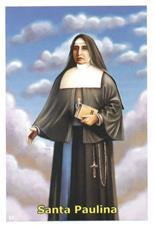 Imagem - Santinhos de Oração Madre Paulina cód: 18768255
