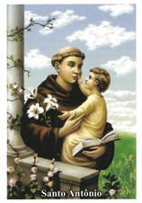 Santinhos de oração Santo Antônio