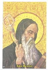 Imagem - Santinhos de Oração São Bento cód: 12316726