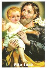 Imagem - Santinhos de Oração São José - 14051755
