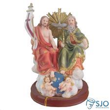 Imagem - Imagem de Resina Santíssima Trindade - 30 cm cód: 19363477