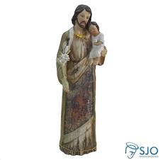 Imagem - Imagem de Resina São José - Mod. 2 - 30 cm - 19454607