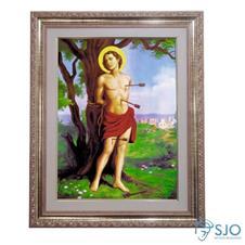 Quadro - São Sebastião - 52 cm x 42 cm